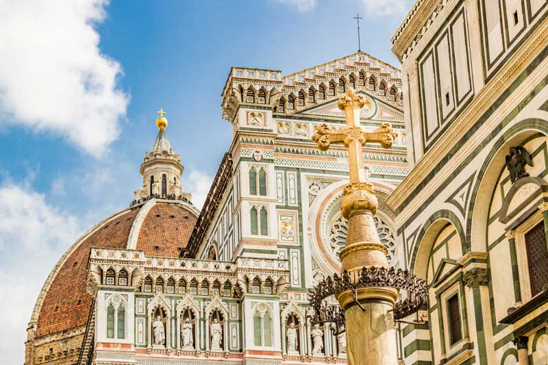 Duomo in Florence city center