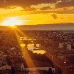 Atardecer desde Piazzale Michelangelo, Florence Casa Rovai guest houses