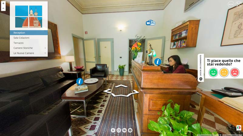 Tour Virtuale B&B Casa Rovai